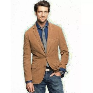NWT J Crew Vintage Camel Corduroy Cord jacket M